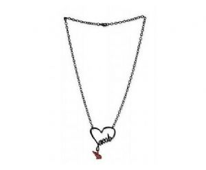 Twilight Eclipse JACOB SCRIPT HEART NECKLACE NECA - Props replica